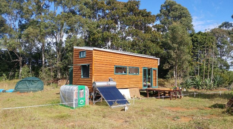 Six months of off-grid living